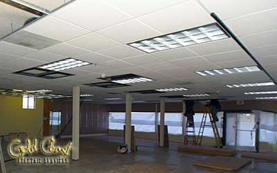 Interior Retail - Commercial  - Gold Coast Electric Services Inc.